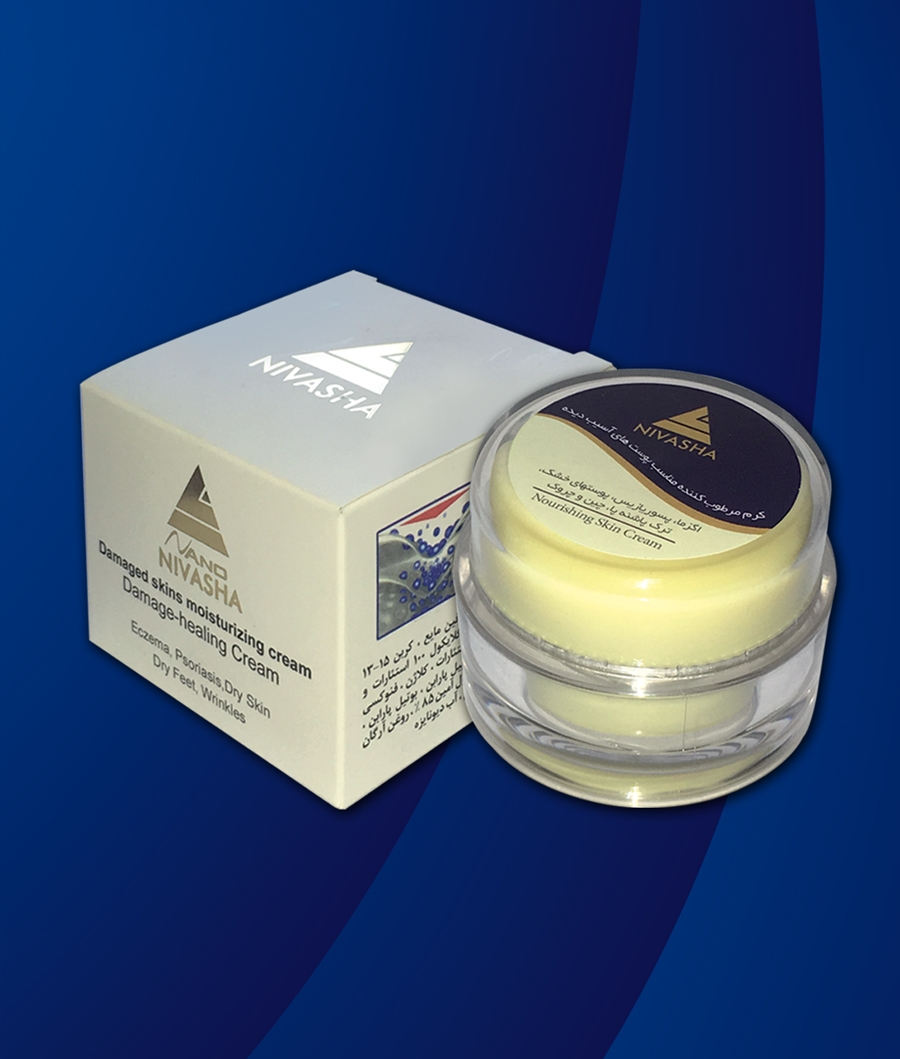 Moisturizing cream for damaged skins